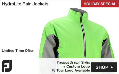 FJ HydroLite Golf Rain Jackets - Previous Season Style - HOLIDAY SPECIAL