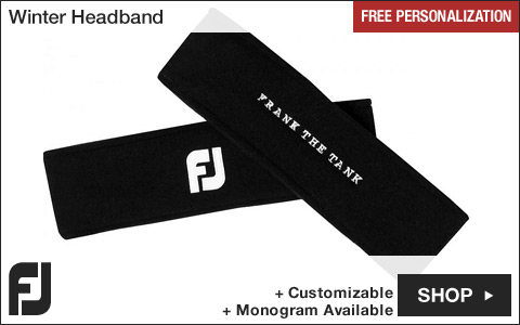 FJ Winter Golf Headband - Assorted - Free Personalization