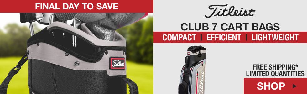 Titleist Club 7 Cart Golf Bags - HOLIDAY SPECIAL