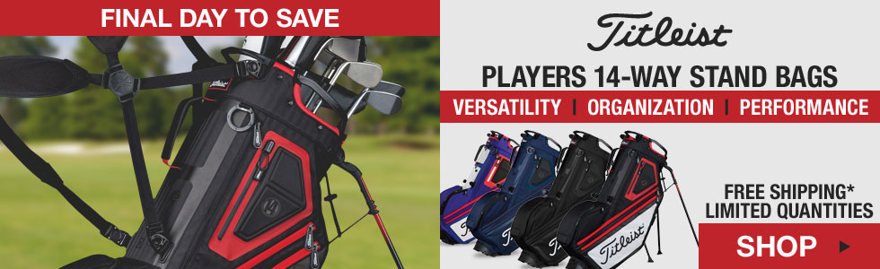 Titleist Players 14-Way Stand Golf Bags - HOLIDAY SPECIAL