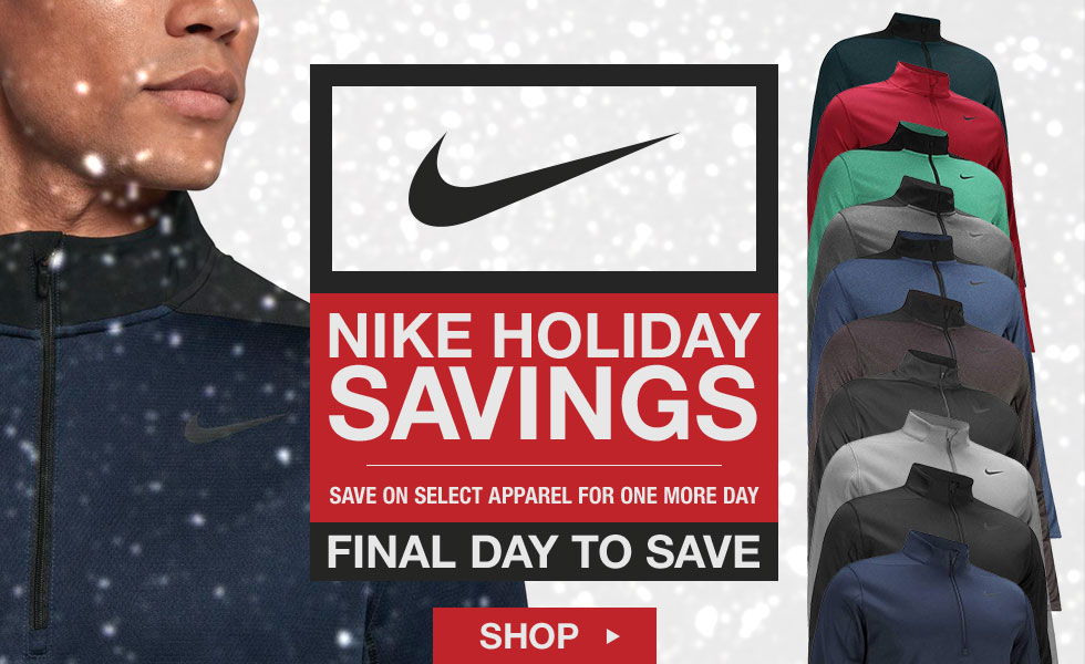 Final Day - Save on Select Nike Items