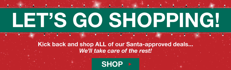 Let's Go Shopping - Holiday Specials at Golf Locker