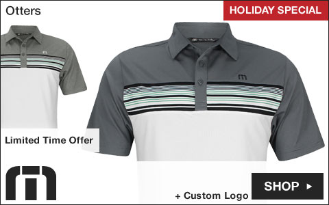Travis Mathew Otters Golf Shirts - HOLIDAY SPECIAL