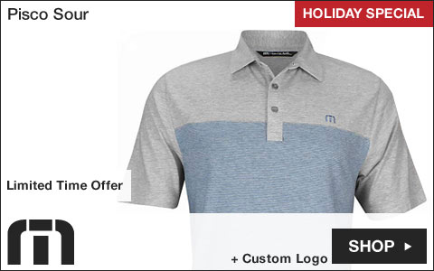 Travis Mathew Pisco Sour Golf Shirts - HOLIDAY SPECIAL