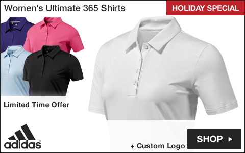 Adidas Women's Ultimate 365 Golf Shirts - HOLIDAY SPECIAL