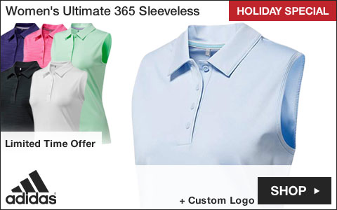 Adidas Women's Ultimate 365 Sleeveless Golf Shirts - HOLIDAY SPECIAL