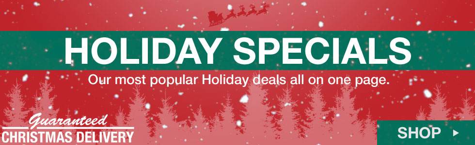 Our Most Popular Holiday Specials