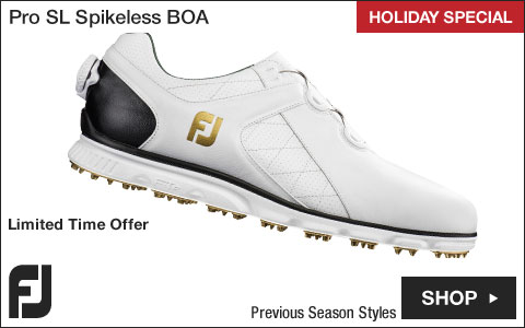 FJ Pro SL Spikeless Golf Shoes with BOA Lacing System - Previous Season Style - HOLIDAY SPECIAL