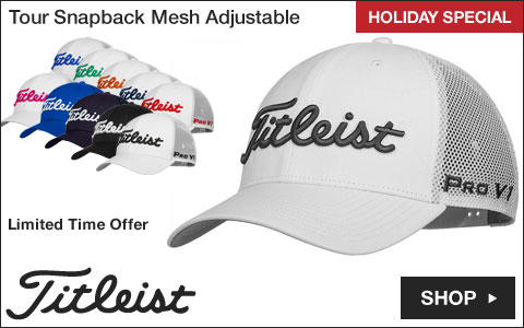 Titleist Tour Snapback Mesh Adjustable Golf Hats - HOLIDAY SPECIAL