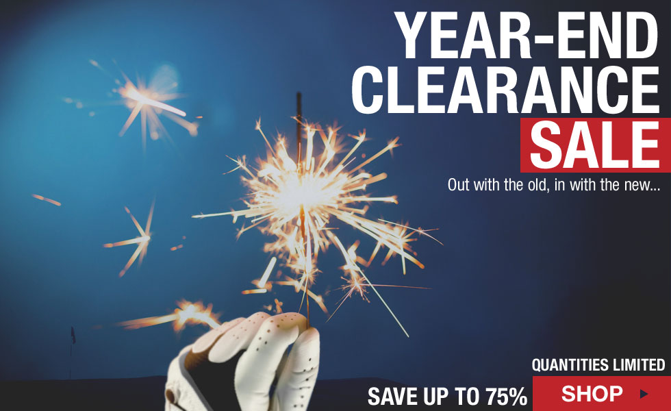 Year-End Clearance Sale at Golf Locker