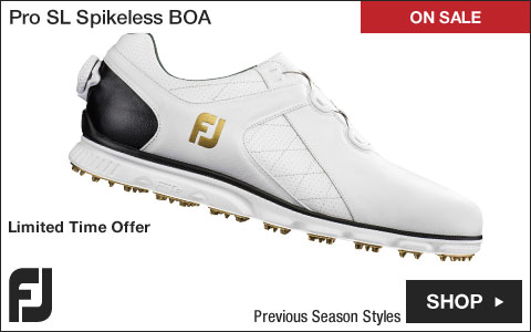 FJ Pro SL Spikeless Golf Shoes with BOA Lacing System - Previous Season Style - ON SALE