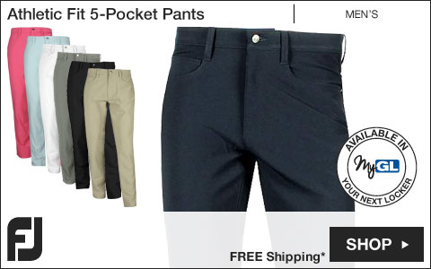FJ Athletic Fit 5-Pocket Golf Pants