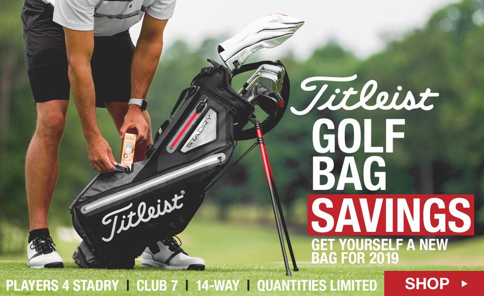 Titleist Bag Savings at Golf Locker