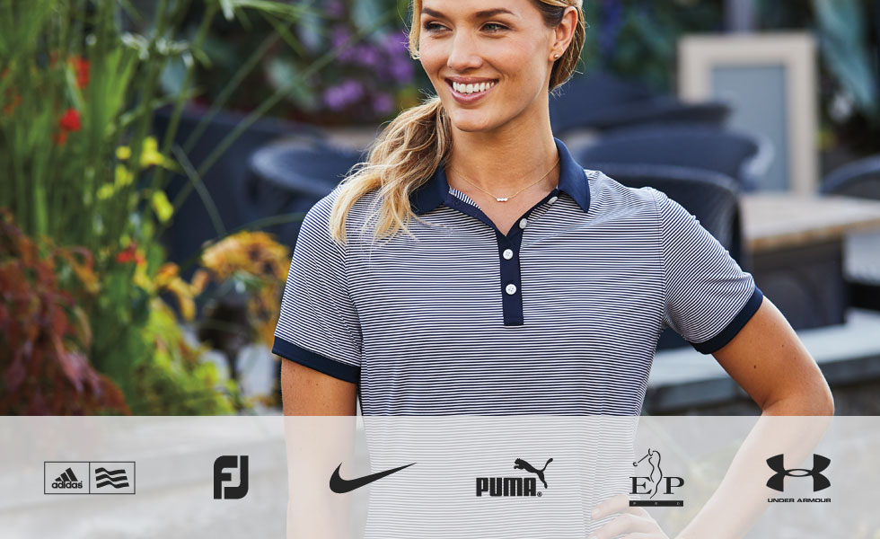 Shop Golf Polo Savings by Size - Women's