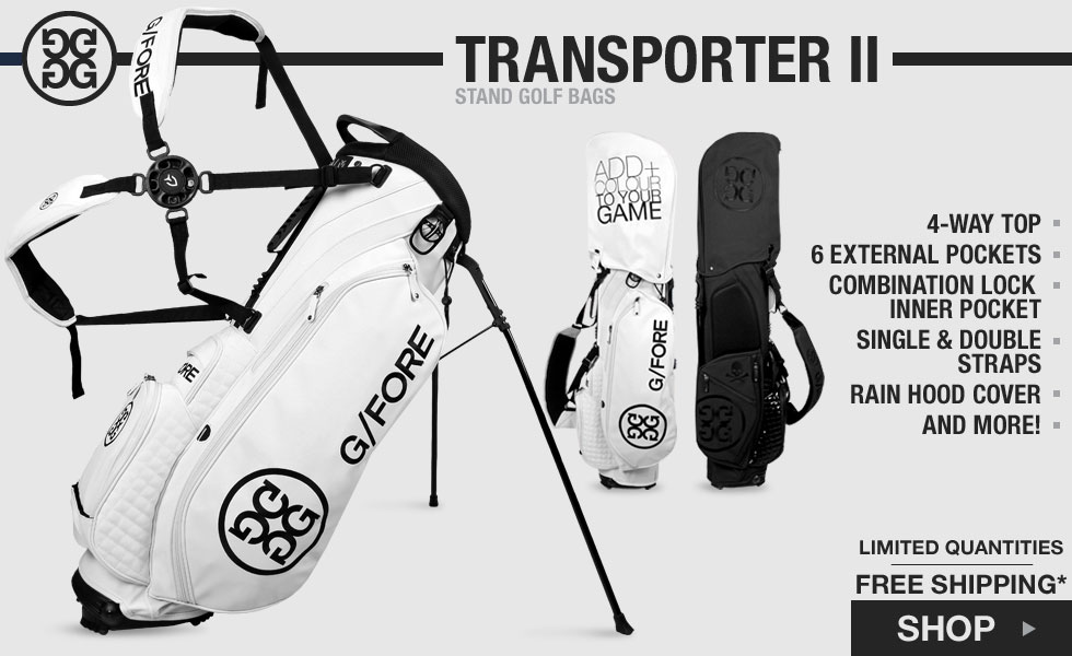 G/FORE 	Transporter II Stand Golf Bags