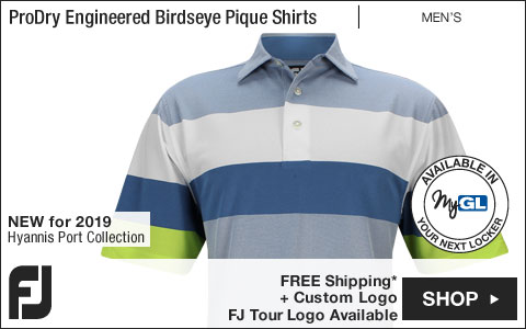 FJ ProDry Engineered Birdseye Pique Golf Shirts - Hyannis Port Collection - FJ Tour Logo Available