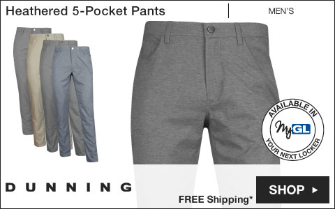 Dunning Heathered 5-Pocket Golf Pants