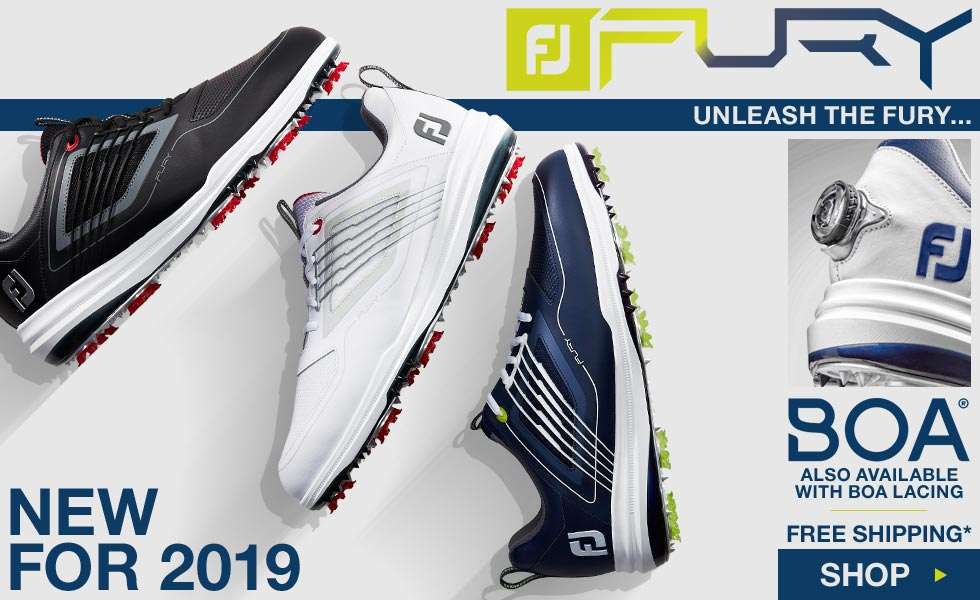 New for 2019 - FJ Fury Golf Shoes