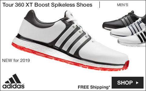 Adidas Tour 360 XT Boost Spikeless Golf Shoes - New for 2019