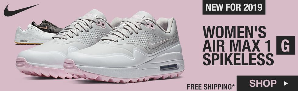New Air Max 1 G Women's Spikeless Golf Shoes