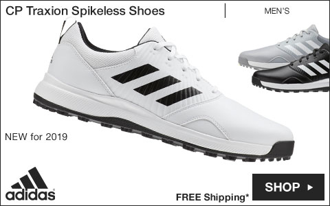 Adidas CP Traxion Spikeless Golf Shoes