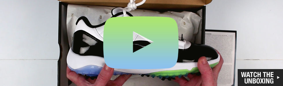 Nike Air Jordan 11 Golf Shoes - Watch the Unboxing