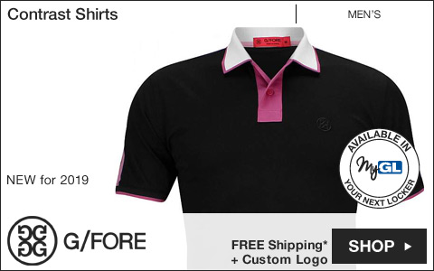 G/Fore Contrast Golf Shirts