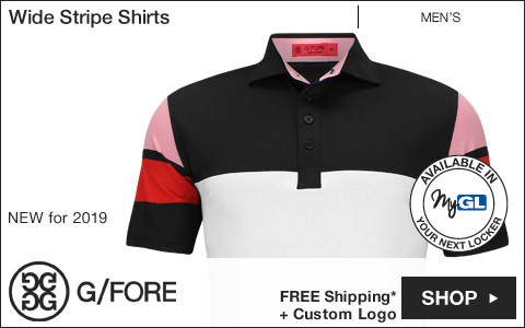 G/Fore Wide Stripe Golf Shirts
