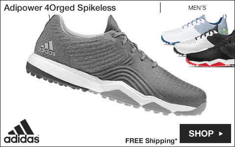 Adidas Adipower 4Orged Spikeless Golf Shoes