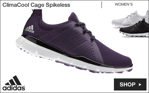 Adidas ClimaCool Cage Women's Spikeless Golf Shoes