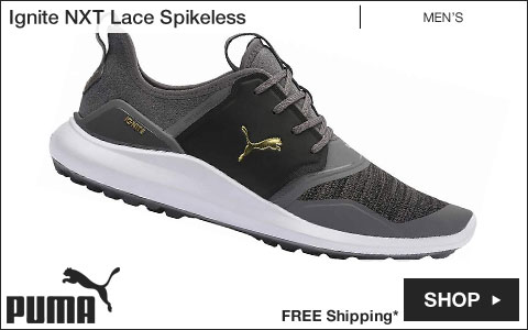 PUMA Ignite NXT Lace Spikeless Golf Shoes