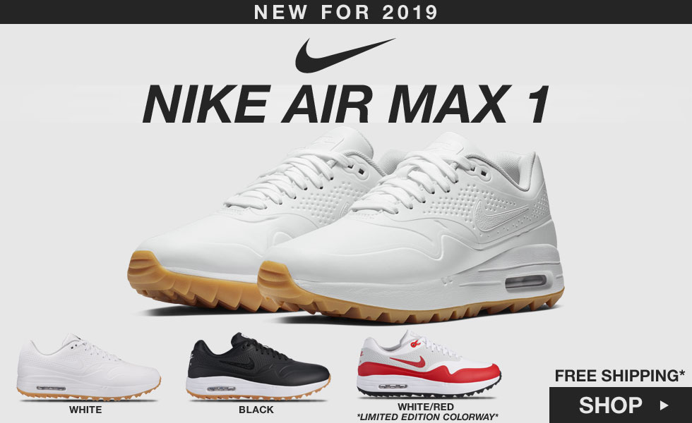 Nike Air Max 1 G Spikeless Shoes - New for 2019