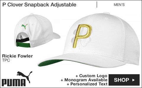 PUMA P Clover Snapback Adjustable Golf Hats - Rickie Fowler TPC