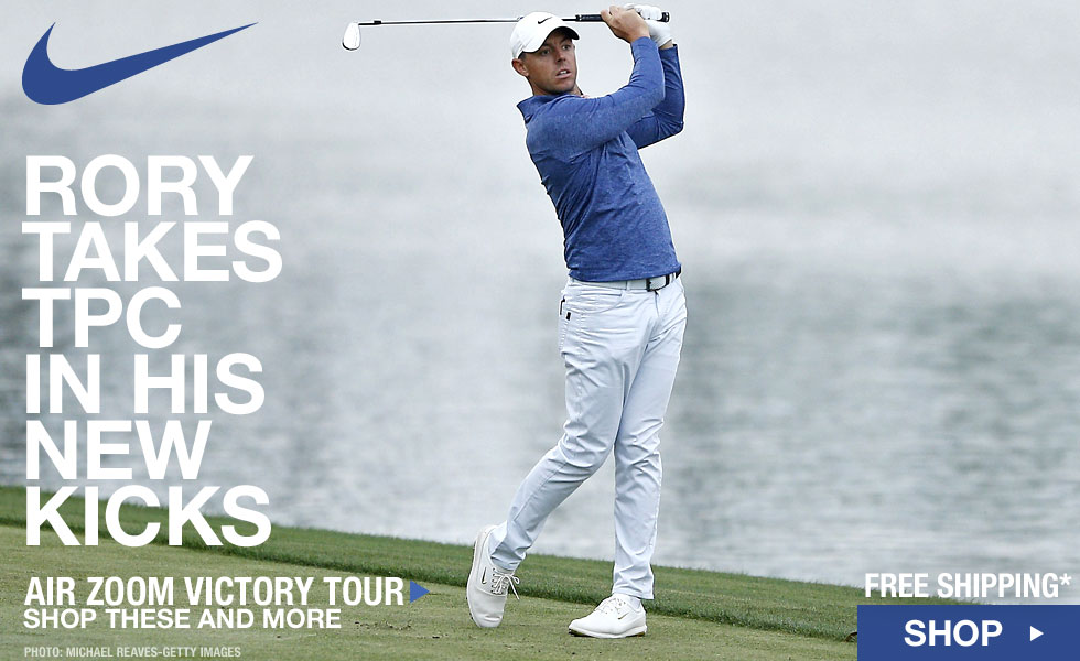 064277af Rory Wins TPC 2019 in the New Nike Air Zoom Victory Golf Shoes