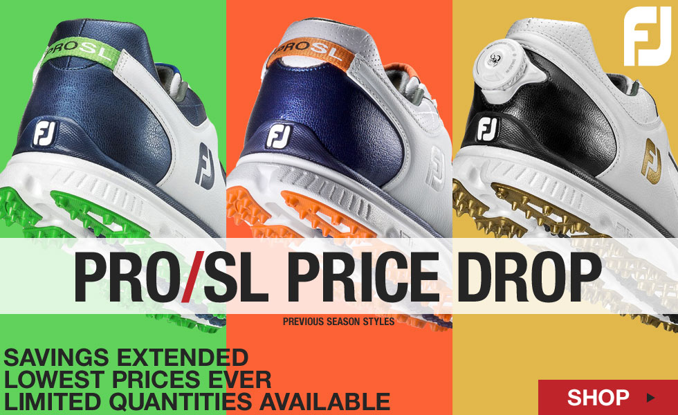 FJ Pro SL Spikeless Golf Shoes - Previous Season Style - ON SALE