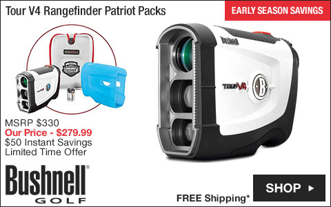 Bushnell Tour V4 Golf Rangefinder Patriot Packs - ON SALE