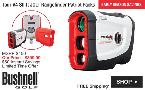 Bushnell Tour V4 Shift JOLT Golf Rangefinder Patriot Packs - ON SALE