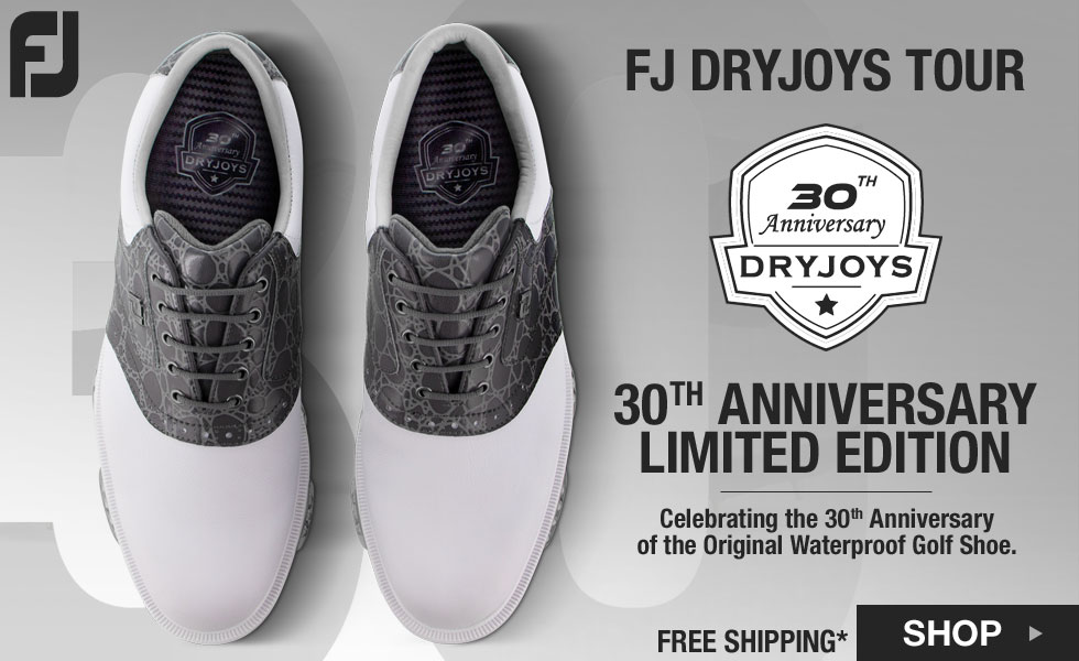 FJ DryJoys Tour Golf Shoes - 30th Anniversary Limited Edition