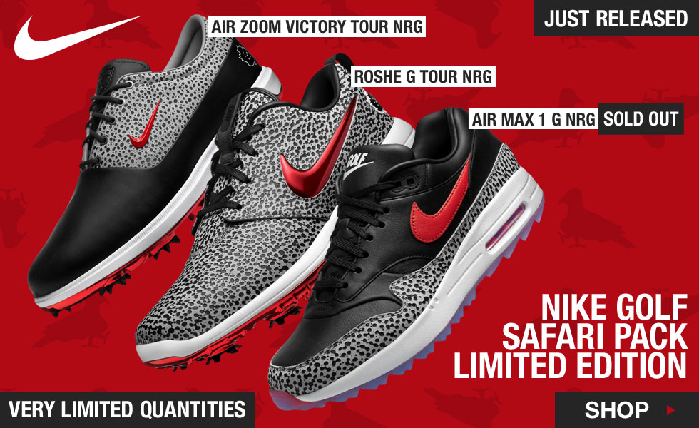 Nike Limited Edition Safari Pack Shoes at Golf Locker - Very Limited Quantities