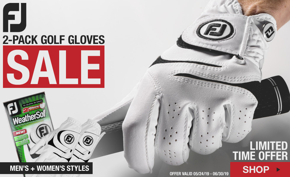 FJ WeatherSof 2-Pack Golf Gloves