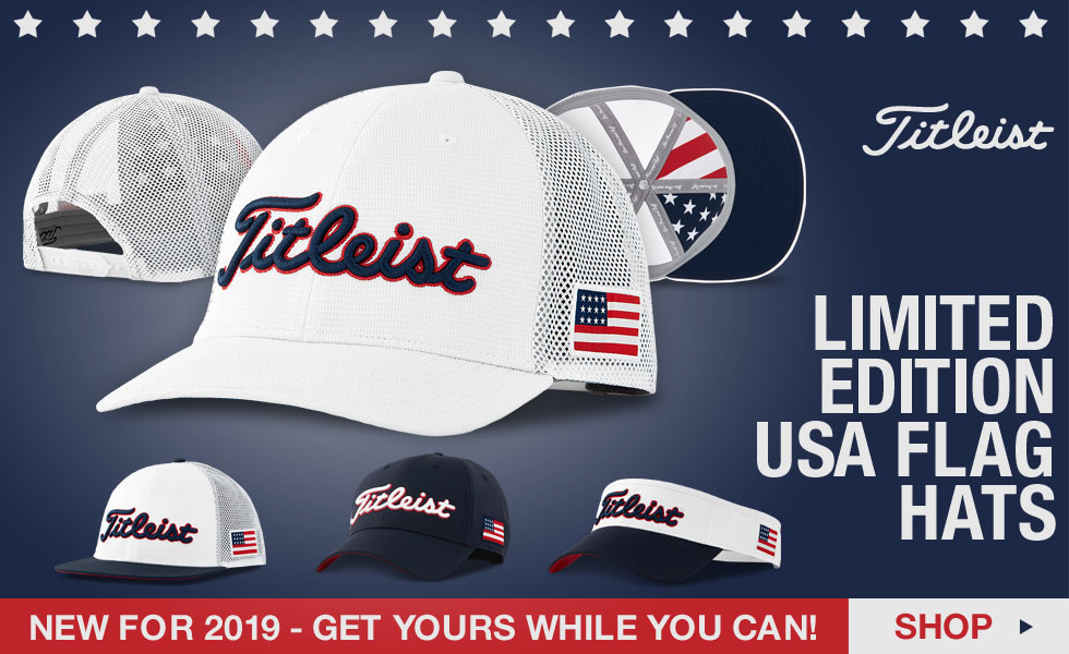 Titleist Limited Edition USA Flag Golf Hats