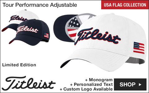 New Titleist LE USA Flag Hats at Golf Locker
