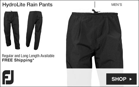 FJ HydroLite Golf Rain Pants