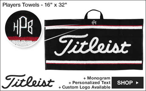 Titleist Players Golf Towels - 16inch x 32inch