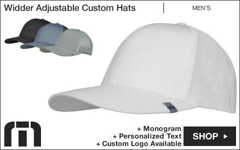 Travis Mathew Widder Adjustable Custom Golf Hats