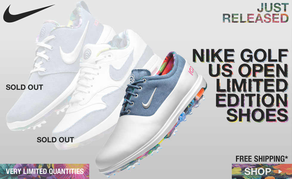 Nike U.S. Open Limited Edition Shoes Now Shipping