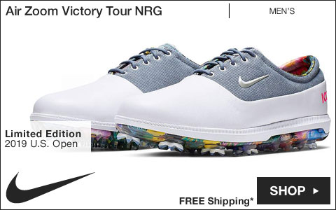 Nike Air Zoom Victory Tour NRG Golf Shoes - Limited Edition U.S. Open