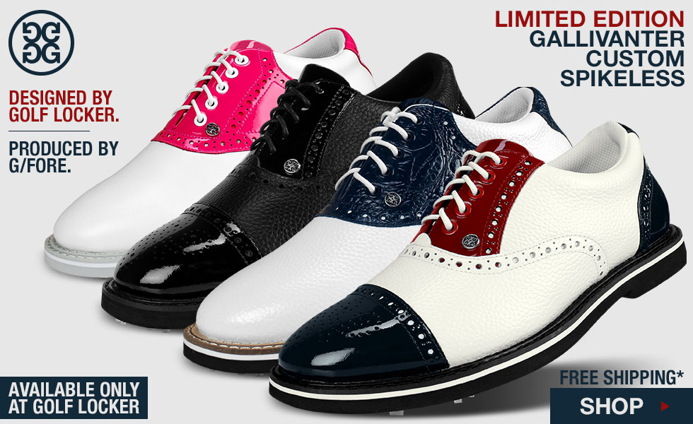 Gallivanter Custom Spikeless Golf Shoes - A Golf Locker Exclusive Offering