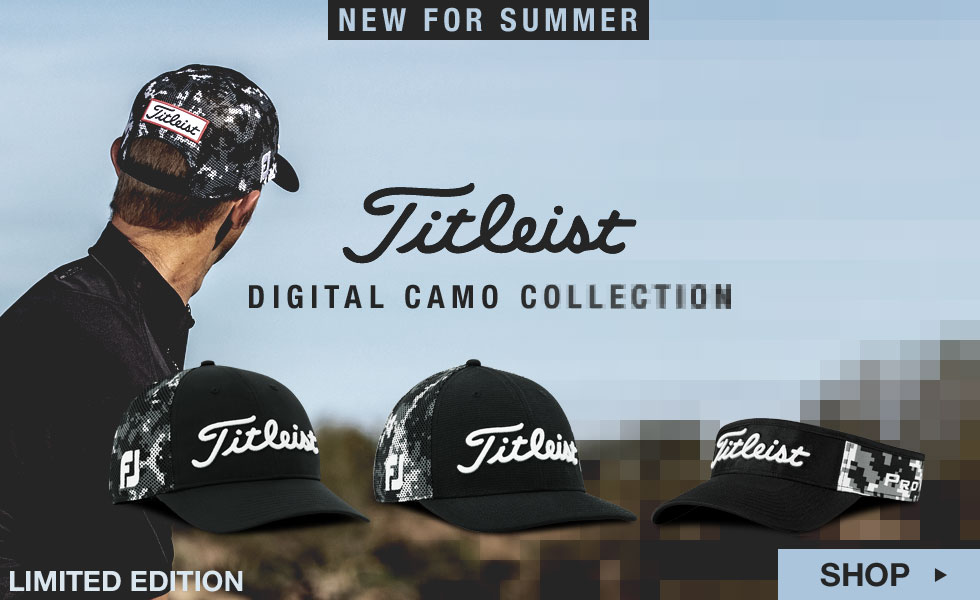 Titleist Digital Camo Collection