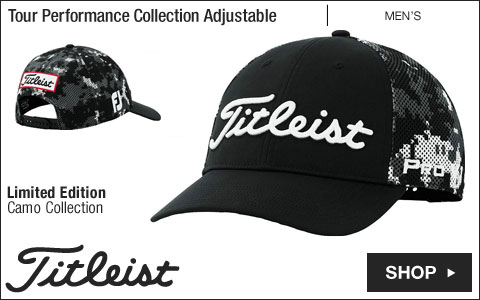 Titleist Tour Performance Collection Adjustable Golf Hats - Limited Edition Camo